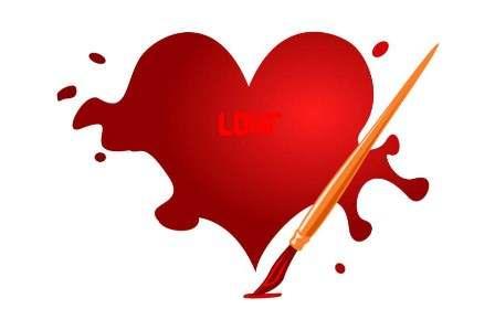 عکس عاشقانه و زیبا از قلب