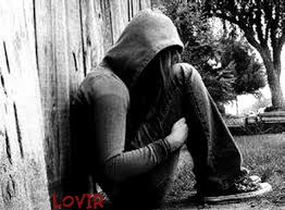عکس عاشقانه تنهایی دخترغمگین