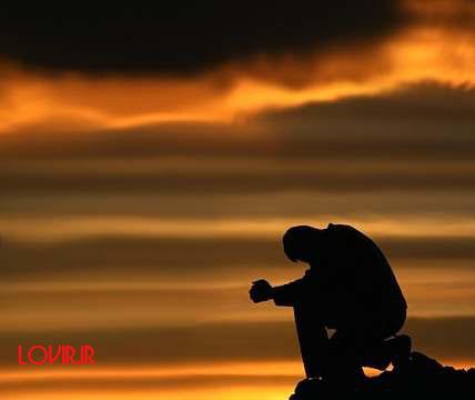 عکس تنهایی غروب